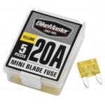5PC/BX 20A MINI BLADE FUSE