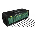 10-Bank, 12V/6V @ 4A Selectable Battery Charger
