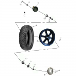 Front Wheel – Aluminum Rim
