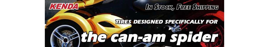 Kenda Kanine KR20 tires for the Can-Am Spyder