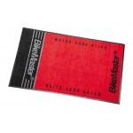Track Mat Red/Black BikeMaster 3'X5'