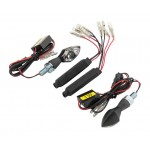 BikeMaster Micro Bright Turn Signals /Black