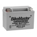 AGM Battery MS12-12ZS BikeMaster
