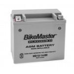 AGM Battery MS12-14-BS BikeMaster