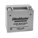 AGM Battery MS12-14-BS BikeMaster