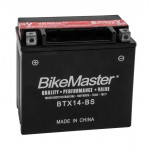 BTX14-BS BikeMaster Battery