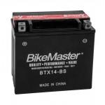 BTX14-BS BikeMaster Battery