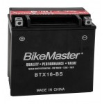 BTX16-BS BikeMaster Battery