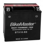 BTX16-BS BikeMaster Battery