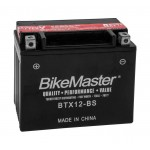 BTX12-BS BikeMaster Battery**