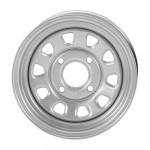 I.T.P. Delta Steel Silver Wheels
