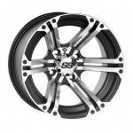 SS Alloy SS212 12X7 4/110 2+5 Machined