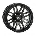SS316 Black OPS 12X7 4/110 2+5