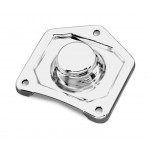 CHROME SOLENOID END PLATE